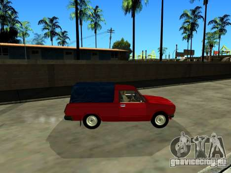 ВАЗ 2104 Пикап для GTA San Andreas вид слева