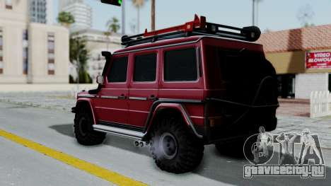Mercedes-Benz G500 Off-Road v2.0 для GTA San Andreas вид слева