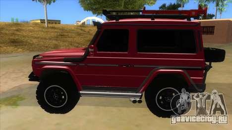 Mercedes-Benz G500 Off Road V3.0 для GTA San Andreas вид слева