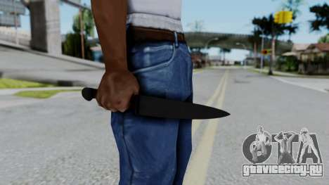 No More Room in Hell - Kitchen Knife для GTA San Andreas