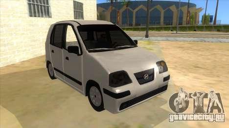 Hyundai Atos 2006 для GTA San Andreas вид сзади