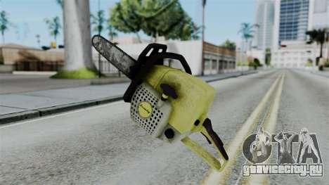 No More Room in Hell - Chainsaw для GTA San Andreas второй скриншот