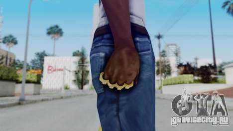 The Hustler Knuckle Dusters from Ill GG Part 2 для GTA San Andreas третий скриншот