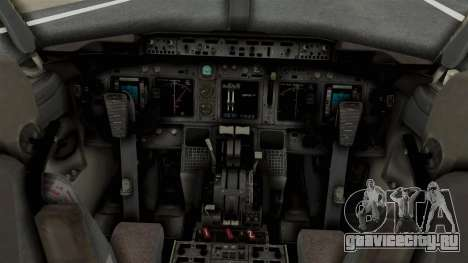 Boeing 737-800 Business Jet Indian Air Force для GTA San Andreas вид справа
