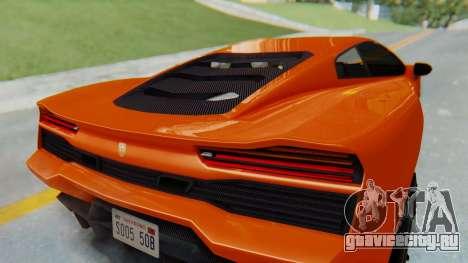 GTA 5 Pegassi Vacca IVF для GTA San Andreas вид изнутри