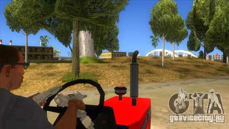 IMT Traktor для GTA San Andreas вид изнутри