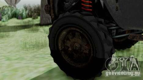 GTA 5 Karin Rebel 4x4 Worn IVF для GTA San Andreas вид сзади слева