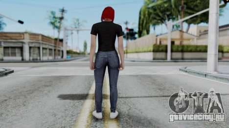 Female Skin 2 from GTA 5 Online для GTA San Andreas третий скриншот