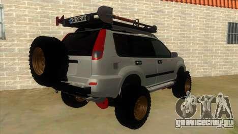 Nissan X-Trail 4x4 Dirty by Greedy для GTA San Andreas вид справа
