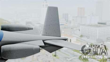GTA 5 Vestra для GTA San Andreas вид сзади слева