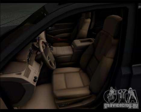 Chevrolet Suburban 2015 для GTA San Andreas вид справа