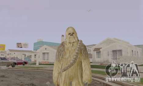 Chewbacca для GTA San Andreas