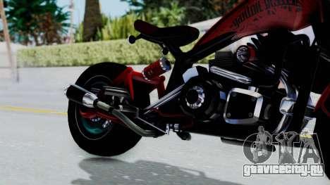 Turbike 3.0 для GTA San Andreas вид справа