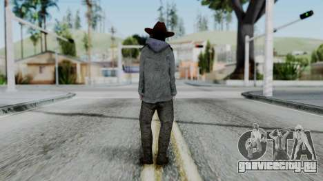 Carl Grimes from The Walking Dead для GTA San Andreas третий скриншот