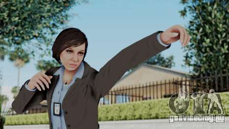 GTA 5 Karen Daniels IAA для GTA San Andreas