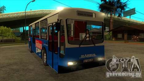 Ikarbus - Subotica trans для GTA San Andreas вид сзади