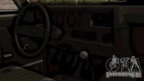 Chevrolet El Camino SS 1970 Monster Truck для GTA San Andreas вид справа