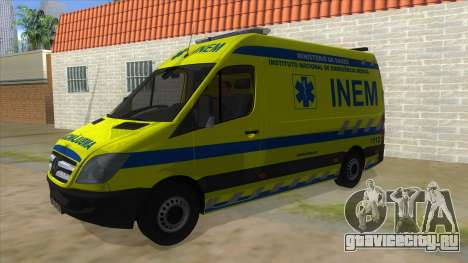 Mercedes-Benz Sprinter INEM Ambulance для GTA San Andreas