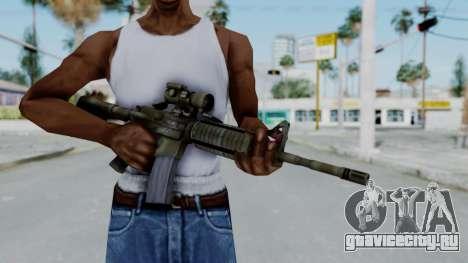 Arma2 M4A1 CCO Camo для GTA San Andreas третий скриншот