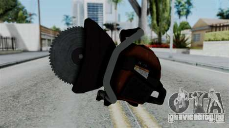 No More Room in Hell - Abrasive Saw для GTA San Andreas