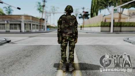 Srpski Vojnik 1999 для GTA San Andreas третий скриншот