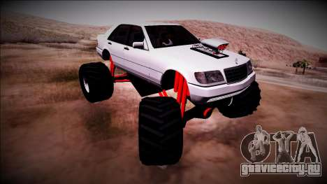 Mercedes-Benz W140 Monster Truck для GTA San Andreas