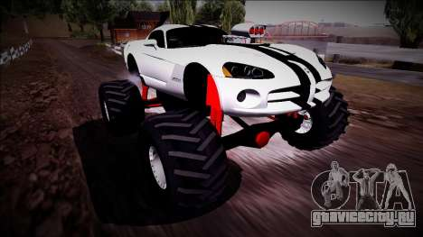 Dodge Viper SRT10 Monster Truck для GTA San Andreas