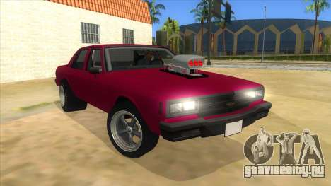 1984 Chevrolet Impala Drag для GTA San Andreas вид сзади