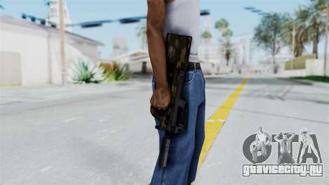 P90 Camo1 для GTA San Andreas третий скриншот