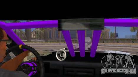 Stretch Sedan Drag для GTA San Andreas вид изнутри