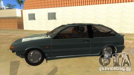 ВАЗ 2113 перевертыш для GTA San Andreas вид слева