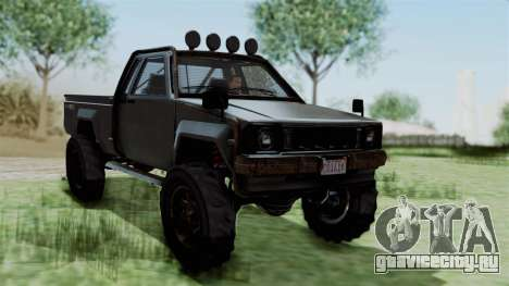 GTA 5 Karin Rebel 4x4 Worn IVF для GTA San Andreas