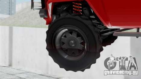 GTA 5 Karin Rebel 4x4 для GTA San Andreas вид сзади слева