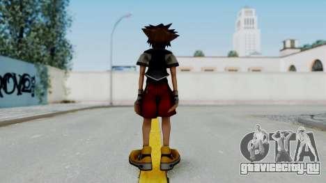 Kingdom Hearts 2 - Sora Early Costume Fix для GTA San Andreas третий скриншот