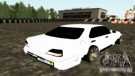 Nissan Cedric WideBody для GTA San Andreas вид сзади