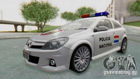 Opel-Vauxhall Astra Policia для GTA San Andreas
