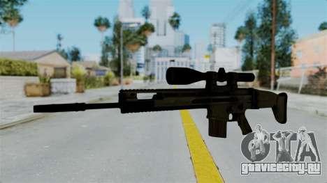 SCAR-20 v1 No Supressor для GTA San Andreas