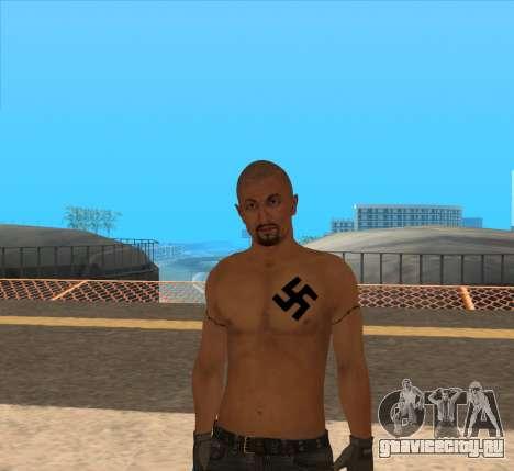 Derek Vinyard: American history X для GTA San Andreas второй скриншот