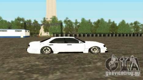 Nissan Cedric WideBody для GTA San Andreas вид изнутри