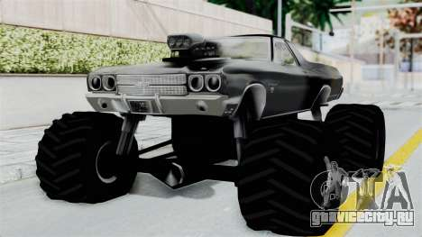 Chevrolet El Camino SS 1970 Monster Truck для GTA San Andreas