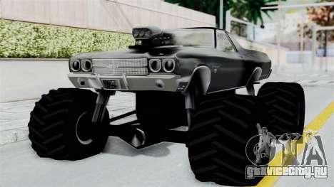 Chevrolet El Camino SS 1970 Monster Truck для GTA San Andreas