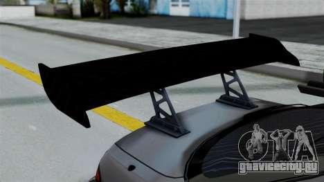 Nissan Silvia S14 Stance для GTA San Andreas вид изнутри