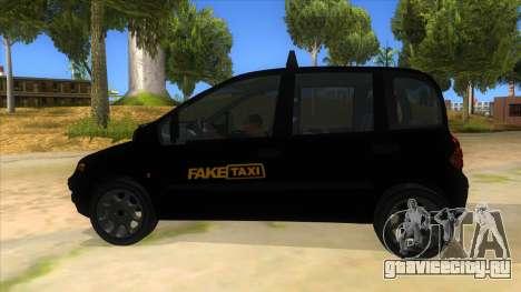 Fiat Multipla FAKETAXI для GTA San Andreas вид слева