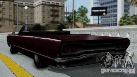 Savanna Gold Digger для GTA San Andreas вид слева