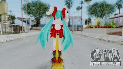 Hatsune Miku (Rabbit Girl) для GTA San Andreas третий скриншот