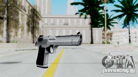 Pouxs Desert Eagle v2 Chrome для GTA San Andreas второй скриншот