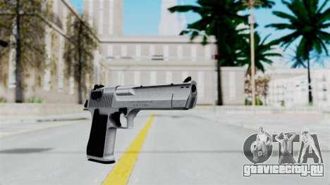 Pouxs Desert Eagle v2 Chrome для GTA San Andreas