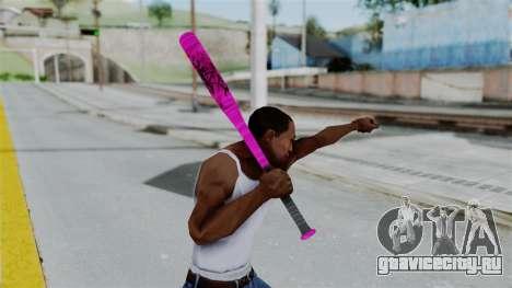 GTA 5 Baseball Bat 4 для GTA San Andreas третий скриншот