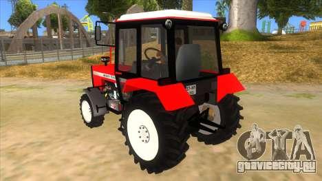 Massley Ferguson Tractor для GTA San Andreas вид сзади слева