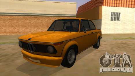 1974 BMW 2002 turbo v1.1 для GTA San Andreas